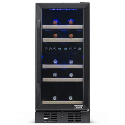 Black Stainless Steel Wine Coolers Beverage Coolers The Home Depot