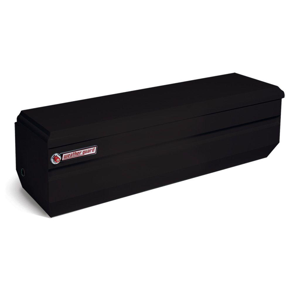 Weather Guard 62 Gloss Black Steel Full Size Chest Truck Tool Box