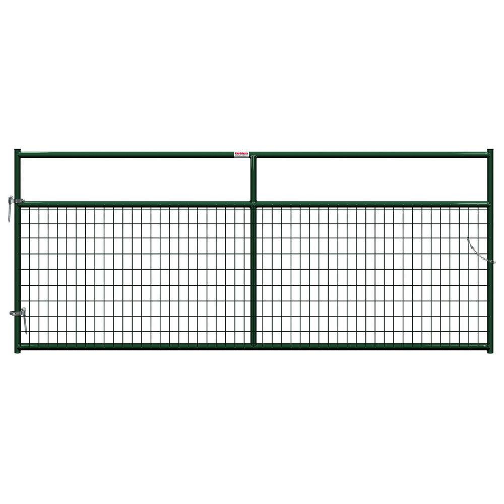 Behlen Country 10 ft. x 1-5/8 in. Dia In-Ground Wire Filled Gate