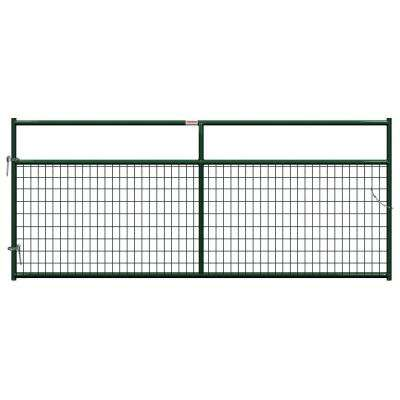 10 ft. x 1-5/8 in. Dia In-Ground Wire Filled Gate