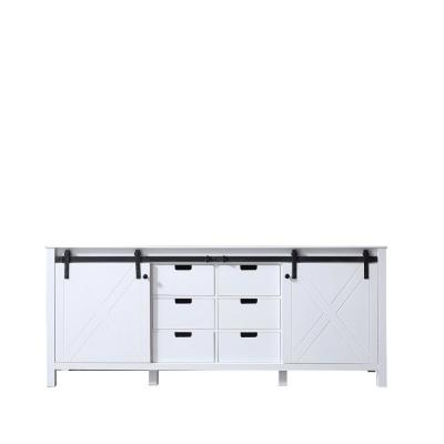 Marsyas 80 in. Bath Vanity Cabinet Only in White