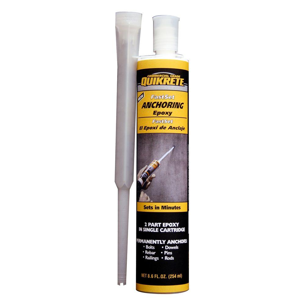 Quikrete 8.6 oz. Fast-Setting Anchoring Epoxy