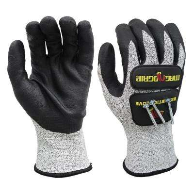Extra-Large Impact and Cut Resistant Magnetic Gloves with Touchscreen Technology