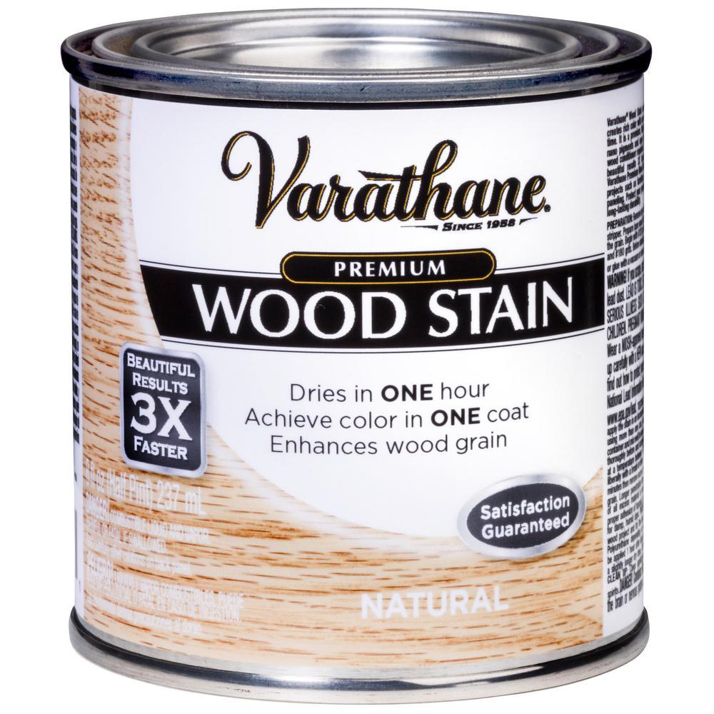8 oz. Natural Premium Fast Dry Interior Wood Stain