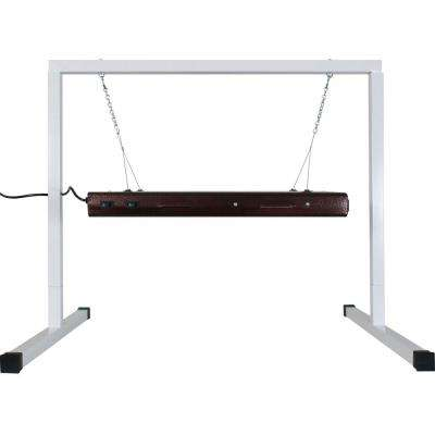 T5 2 ft. 4 Lamp Fluorescent Grow Light System with Light Stand