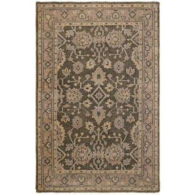 Rochester Grey/Gold 5 ft. x 8 ft. Area Rug