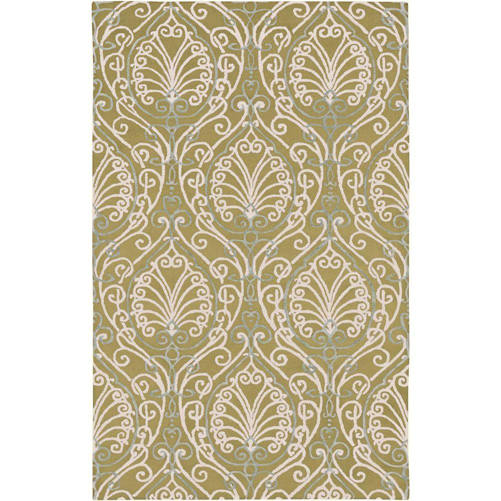 Candice Olson Chartreuse 2 ft. x 3 ft. Accent Rug