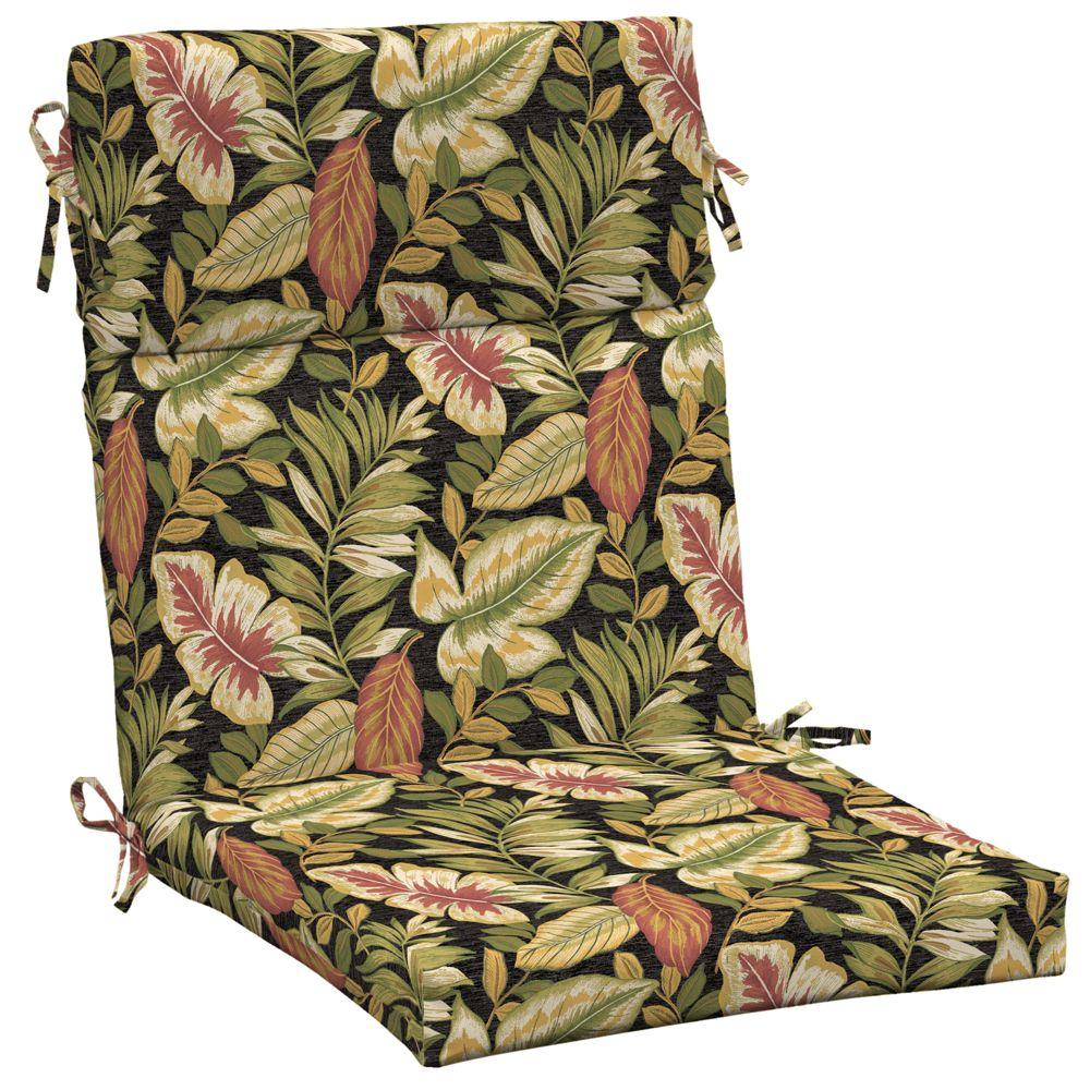 Arden Twilight Tropical High Back Chair Outdoor Cushion-DISCONTINUED