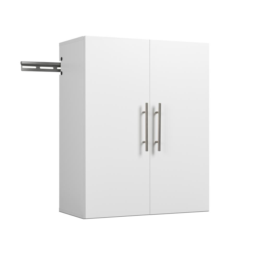 Prepac Hangups Collection 30 In H X 24 W 12 D White Wall Mounted Upper Storage Cabinet