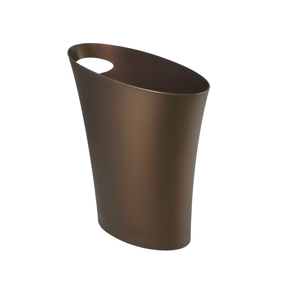 Skinny 2 gal. Plastic Waste Basket