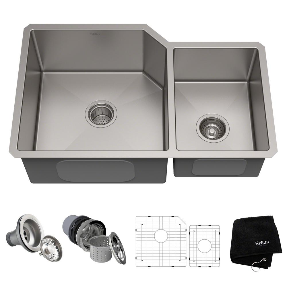 Standart Pro Undermount Stainless Steel 27 In Single Bowl Kitchen Sink