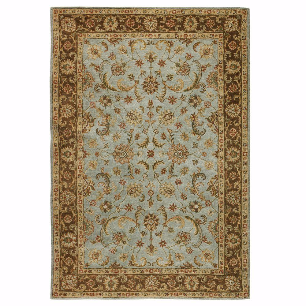 Home decorators collection bronte seaside blue 9 ft 6 in for Home decorators rugs blue