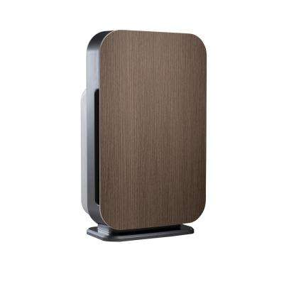 Customizable Air Purifier with HEPA-Pure Filter to Remove Allergies and Dust in Weathered Gray