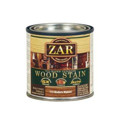 115 0.5 pt. Modern Walnut Wood Stain (2-Pack)
