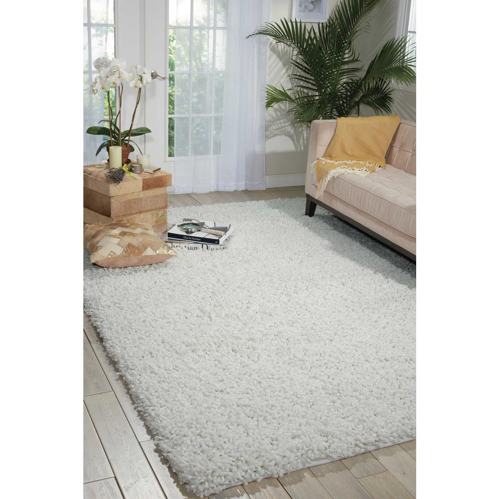 Nourison Zen White 8 ft. x 10 ft. Area