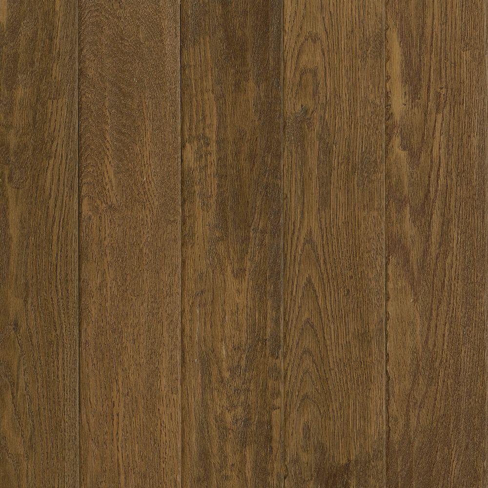 Bruce American Vintage Scraped Tawny Oak 3/8 in. T x 5 in. W x Varying L Engineered Hardwood Flooring (25 sq. ft./case)