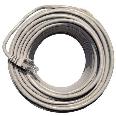 100 ft. White Cat 5e Network Ethernet Cable