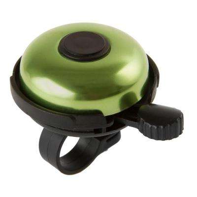 Alloy Rotary Action Bell in Green