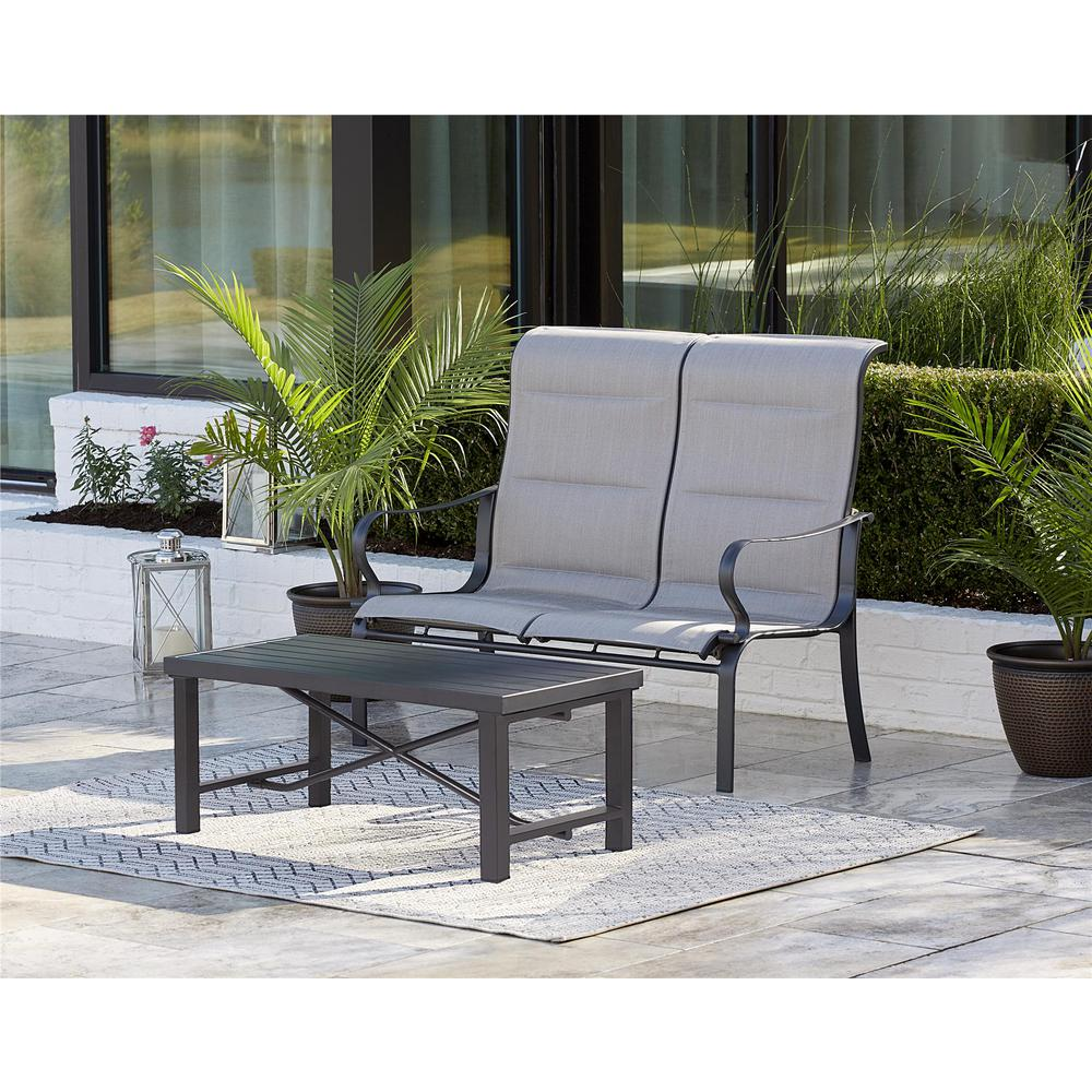 Cosco SmartConnect 2-Piece Padded Sling Patio Conversatio...