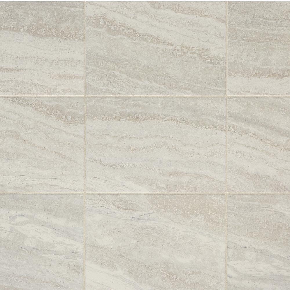 Daltile Hamilton Linear Gray 10 in. x 14 in. Ceramic Wall Tile (14.25 sq. ft. / case)