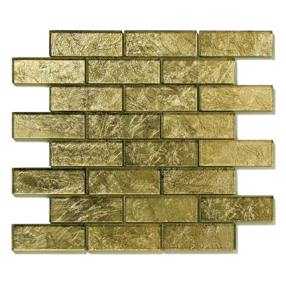 Folia Golden Willow 12 in. x 12 in. x 6.35 mm
