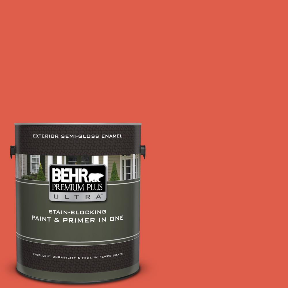 P180 6 Pimento Semi Gloss Enamel Exterior Paint And Primer In One