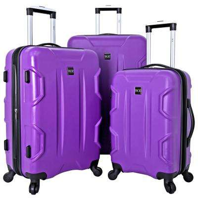 3-Piece Expandable Hard Side Luggage Collection with Spinners (Camden)