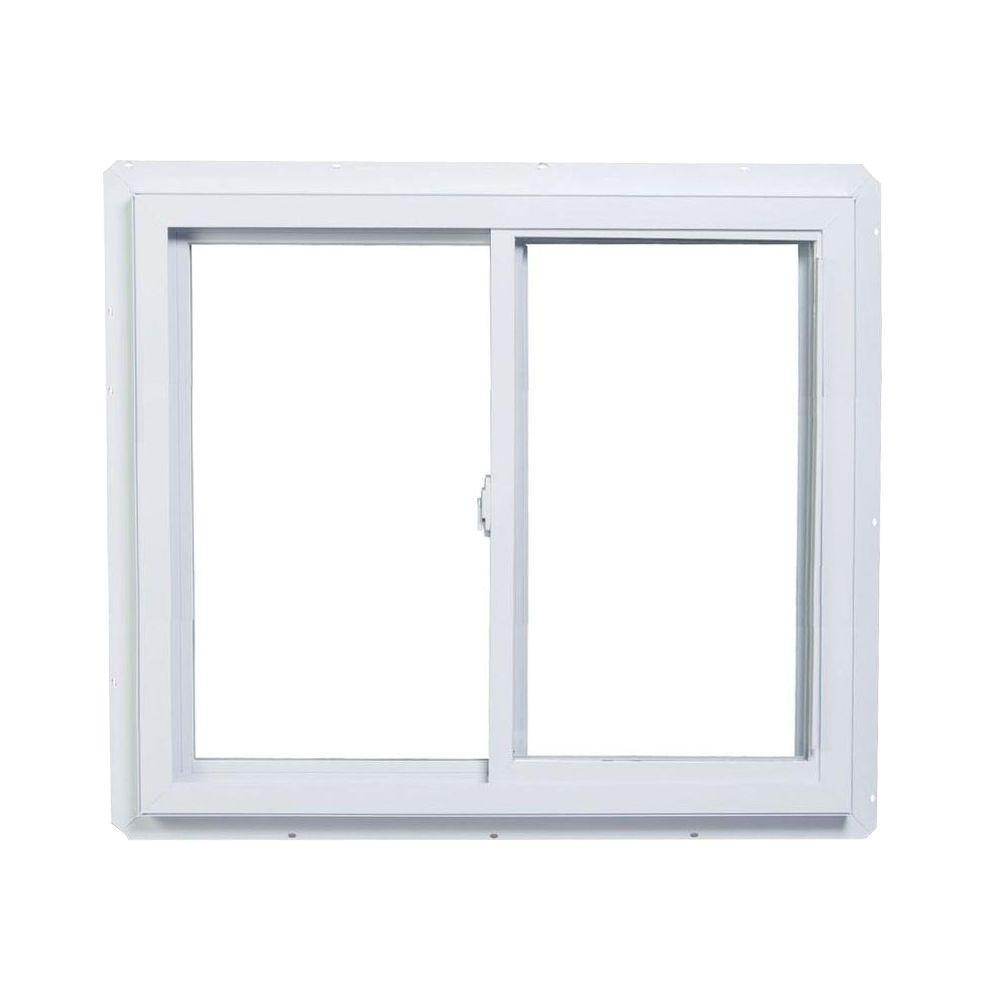 American Windows Bathroom: American Craftsman 48 In. X 48 In. 70 Series Sliding White
