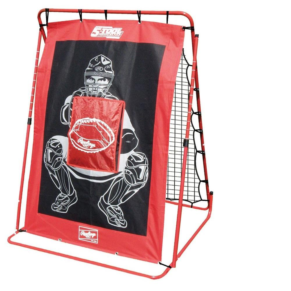 null Rawlings Baseball Comebacker and Pitching Net-DISCONTINUED