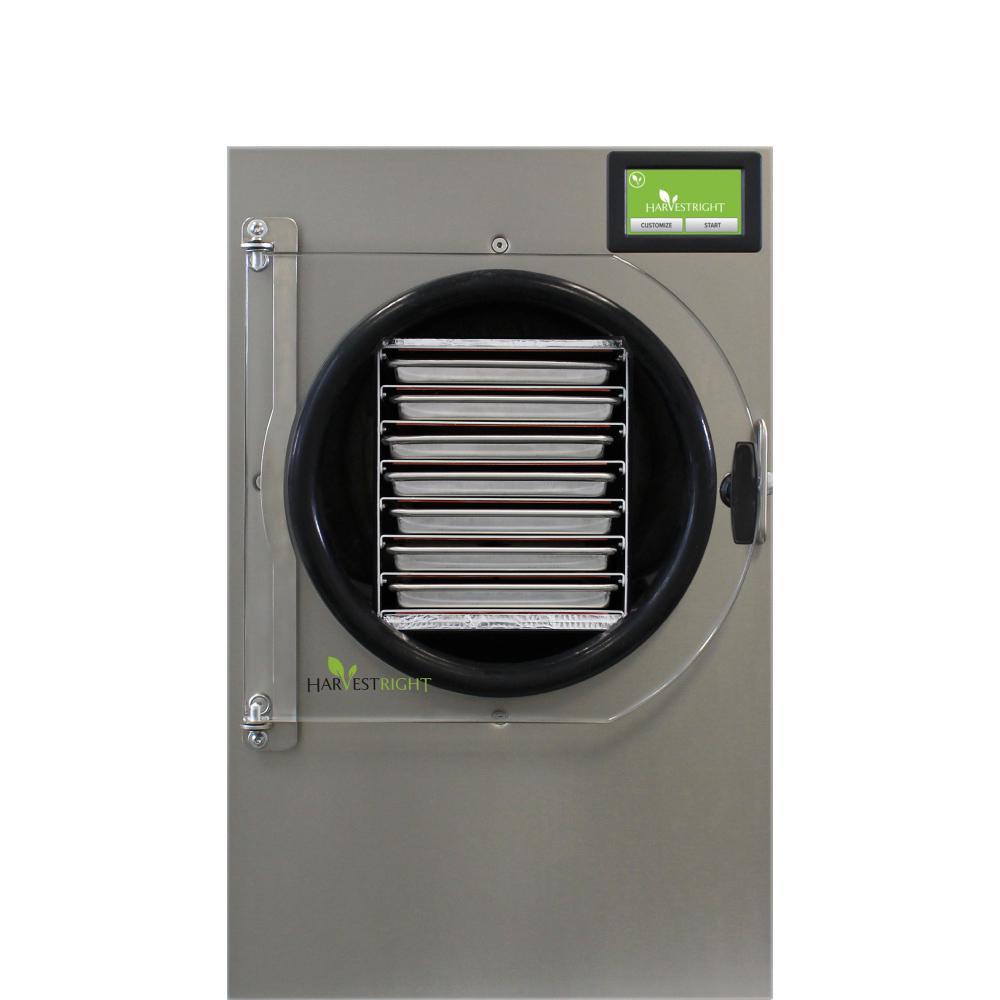 7-Tray Medium Stainless Steel Pharmaceutical Freeze Dryer