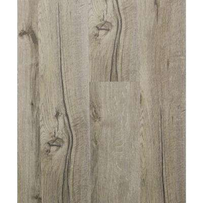 Hydri-Core 5.83 in. x 36 in. Chestnut Sand Embossed HDPC Vinyl Plank (17.48 sq. ft. / case)