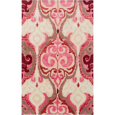 Nelson Hot Pink 3 Ft. 3 In. X 5 Ft. 3 In.