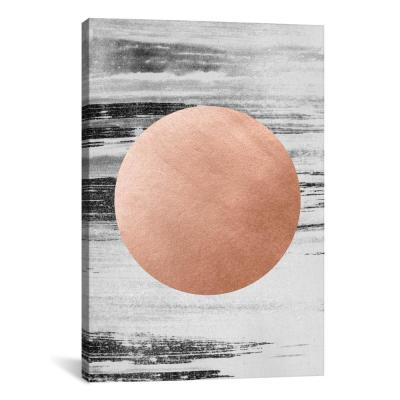 """Rose Gold I"" by LEEMO Canvas Wall Art"