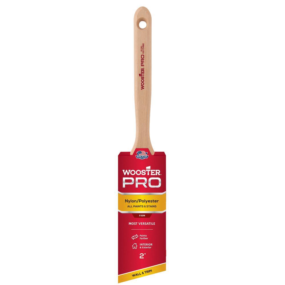 2 in. Pro Nylon/Polyester Angle Sash Brush