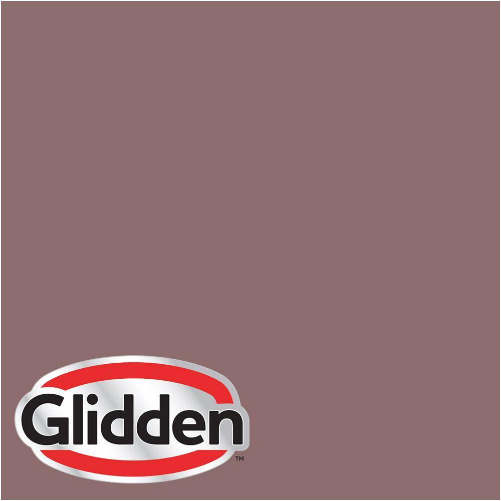 Glidden Smoky Charcoal glidden premium 1-gal. #hdgr37d smokey claret mauve flat latex exterior paint