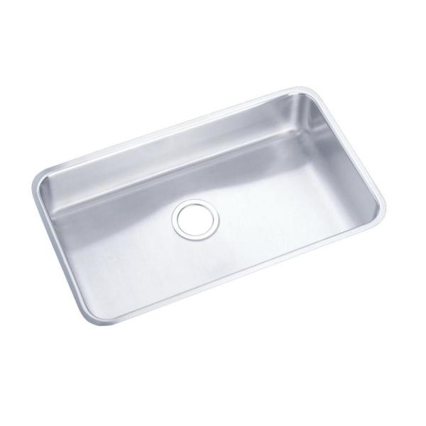 Elkay Undermount Stainless Steel 30.5 in Single Bowl Outdoor Kitchen Sink