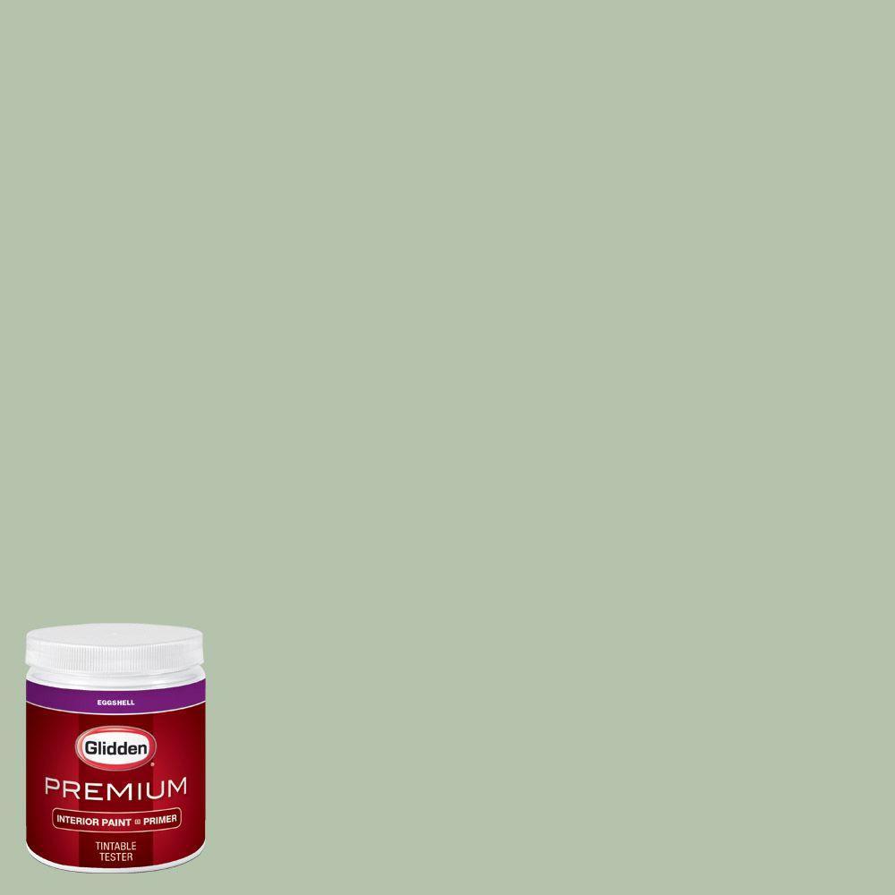 Glidden Premium 8 Oz Hdgg62d Frond Green Eggshell