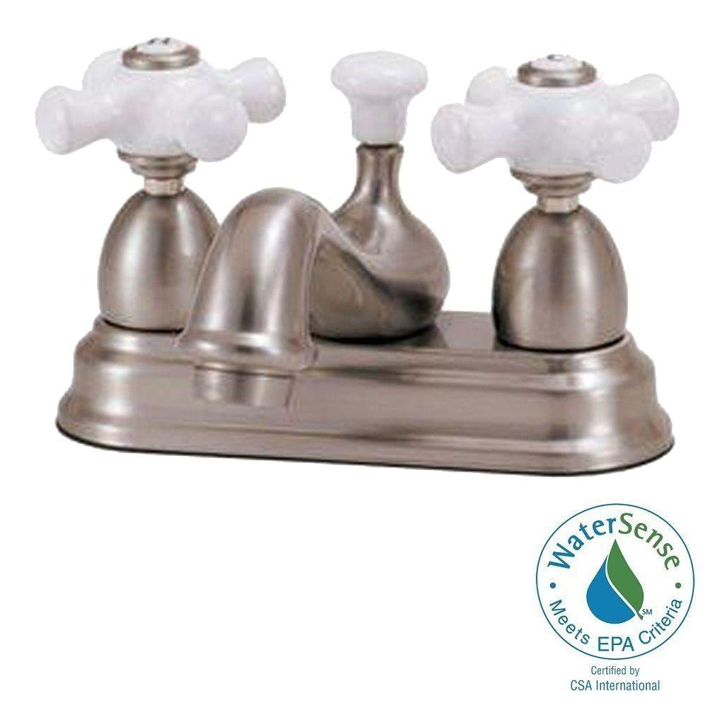Elizabethan Classics Bradsford 4 in. 2-Handle Bathroom Faucet in ...