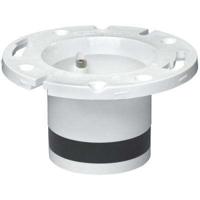 4 in. PVC DWV Replacement Closet Flange