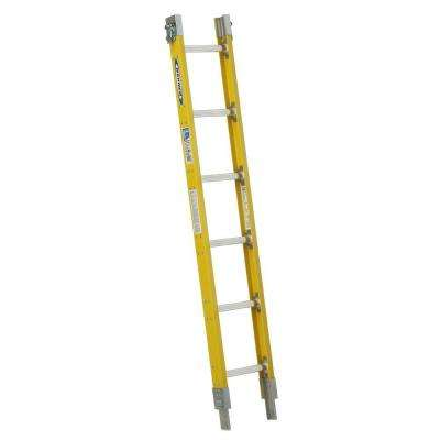 6 ft. Fiberglass Parallel Sectional Ladder with 250 lb. Load Capacity Type I Duty Rating