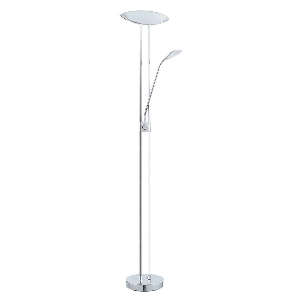 Chrome Integrated LED Floor Lamp