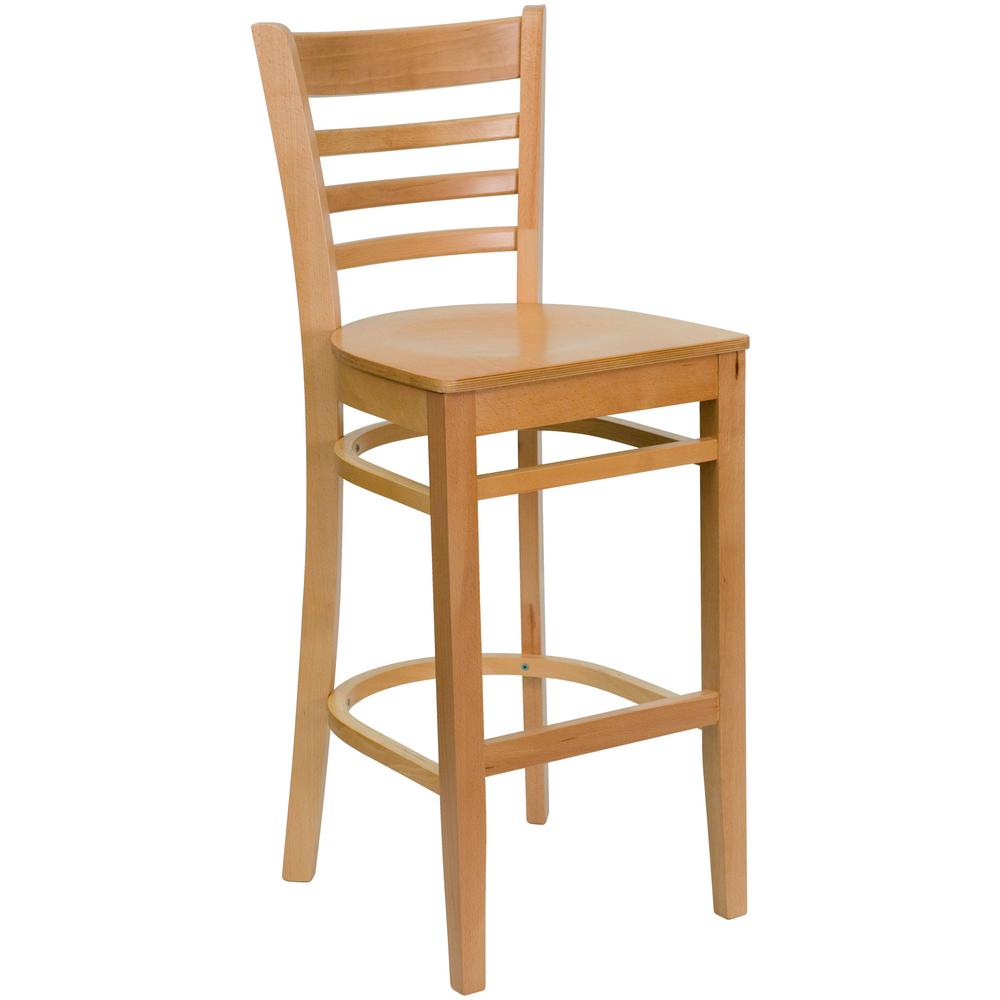 Flash Furniture Hercules 29 5 In Natural Bar Stool