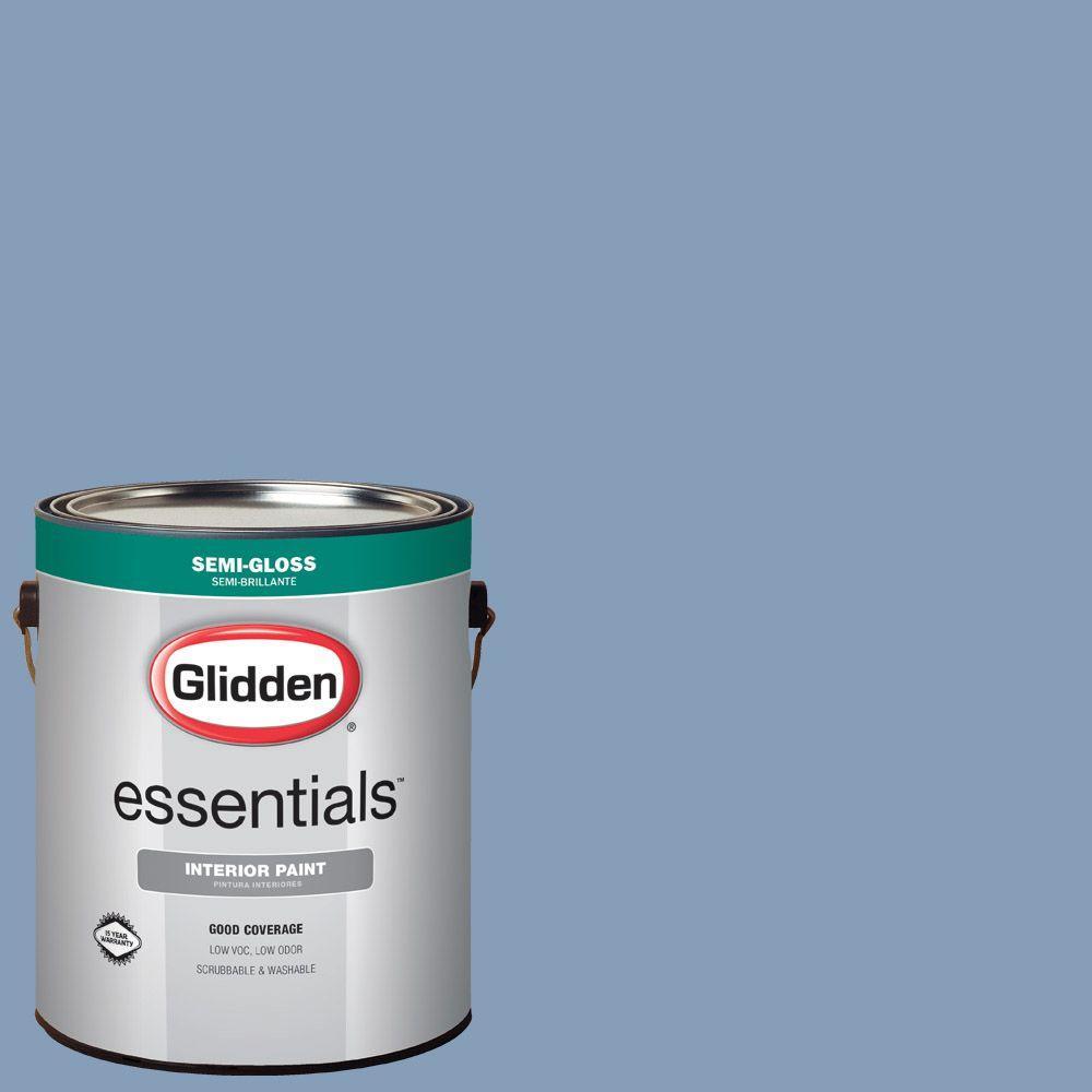 Hdgv24d Steel Blue Semi Gloss Interior Paint