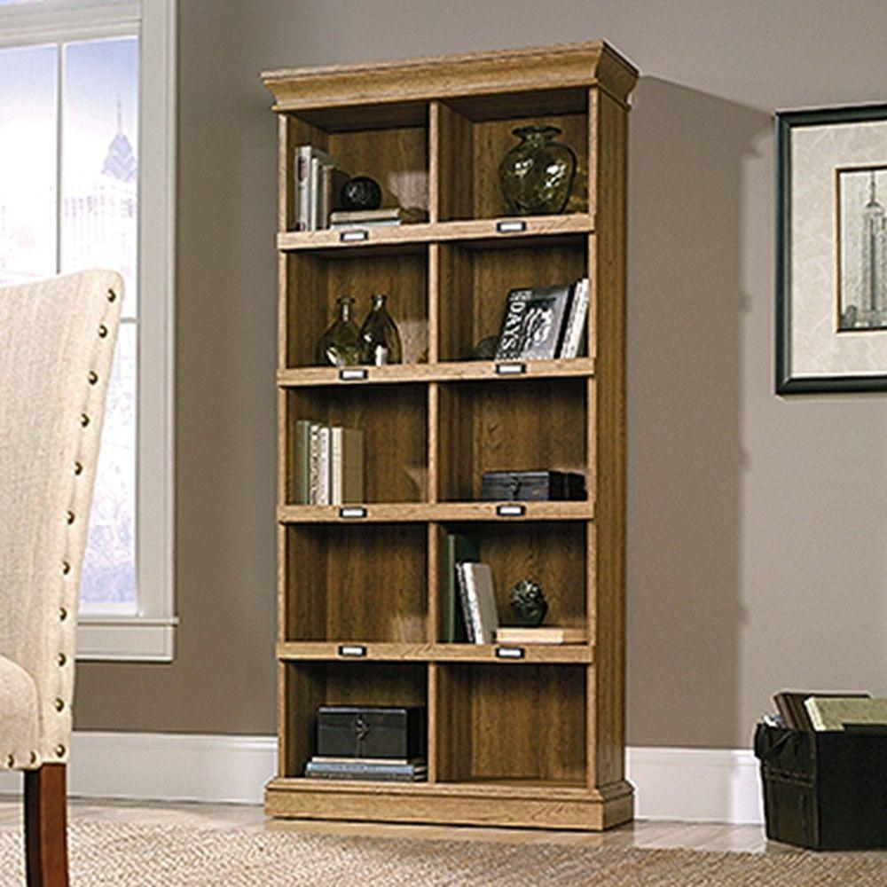Barrister Lane Scribed Oak Open Bookcase