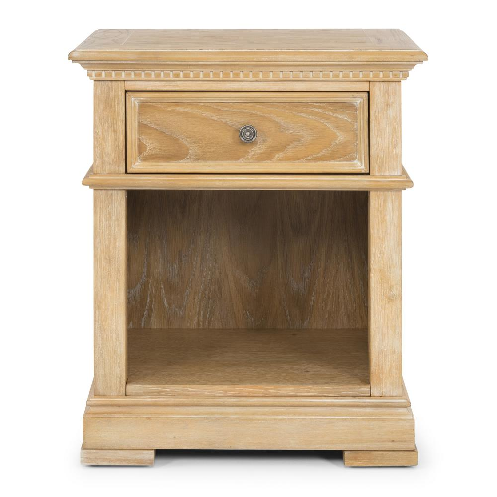 Manor House 28 in. L x 24 in. W x 17.25 in. H Natural Night Stand