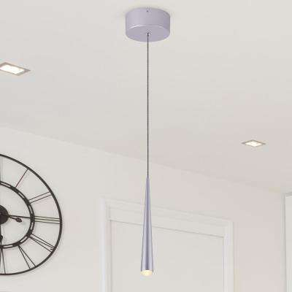 Polaris VMP26810AL 7-Watt Silver Integrated LED Pendant