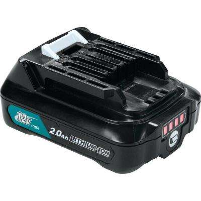 12-Volt MAX CXT Lithium-Ion Compact Battery Pack 2.0Ah