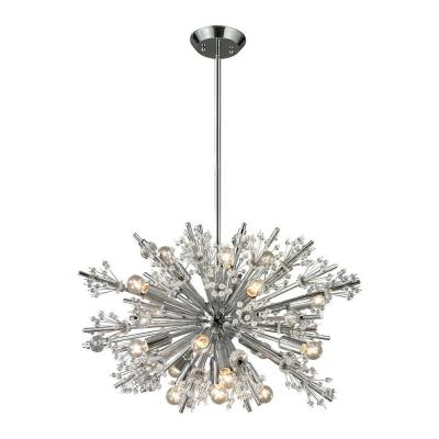 Tracera Collection 19-Light Polished Chrome Chandelier