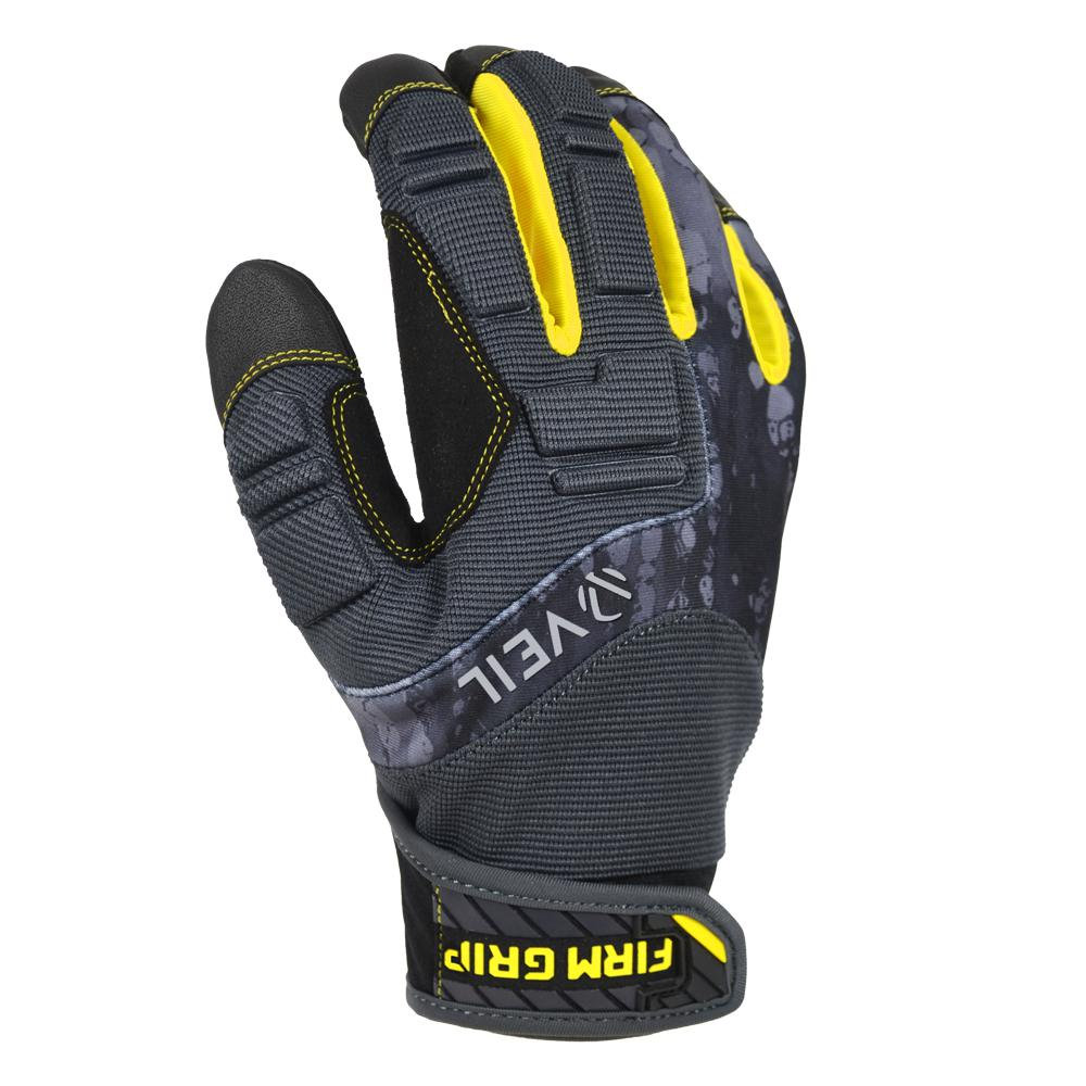 Pro Grip X-Large Black Synthetic Leather High Performance Glove