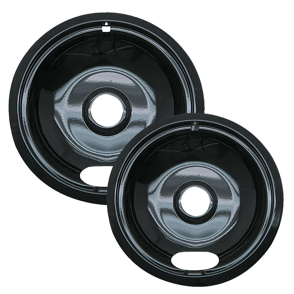 6 in. Small and 8 in. Large A Style Drip Pan